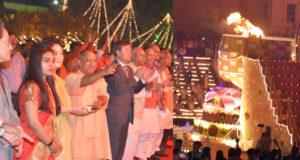 मुख्यमंत्री ने सरयू तट पर 03 लाख से अधिक दीप जलाए गए,  एक विश्व रिकाॅर्ड