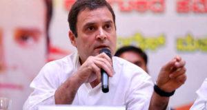 अमेठी में राहुल गांधी  ने कहा हम बैकफुट पर नहीं, फ्रंटफुट पर खेलते हैं, हमें  भाजपा को हराना है