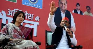 समाजवादी सरकार ने पूरे प्रदेश में विकास जहां-जहां पहुंचाया भाजपा ने उसे रोक दिया —-अखिलेश यादव