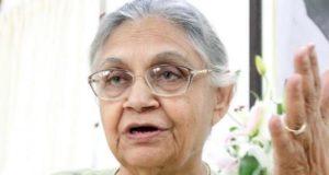 पूर्व मुख्यमंत्री शीला दीक्षित  दिल्ली कांग्रेस की अध्यक्ष बनी