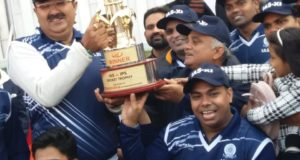 आईएएस ने आईपीएस इलेवन को 60 रन से हराकर 12 साल का रिकार्ड तोड़ा