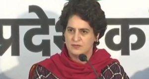 कांग्रेस महासचिव प्रियंका गांधी  21 फरवरी को  जा सकती हैं कुंभ