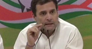 राहुल गांधी का बड़ा ऐलान ,चुनाव जीते तो खाली पड़े 22 लाख सरकारी पदों पर भर्ती होगी