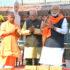 PM ने वाराणसी में श्री काशी विश्वनाथ धाम का शिलान्यास और भूमि पूजन किया
