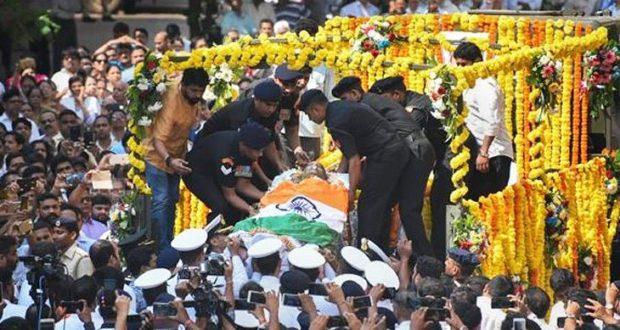 राजकीय सम्मान के साथ मनोहर पर्रिकर का हुआ अंतिम संस्कार