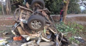 छत्तीसगढ़: दंतेवाड़ा में BJP काफिले पर नक्सली हमला, MLA की मौत; 5 सुरक्षाकर्मी शहीद