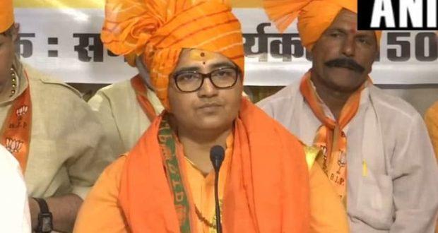 प्रज्ञा सिंह को चुनाव आयोग का नोटिस जारी, हेमंत करकरे पर दिए गए बयान पर मांगा जवाब