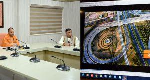 मुख्यमंत्री ने नोएडा प्राधिकरण की 706.35 करोड़ रु0 की  66 परियोजनाओं का लोकार्पण एवं शिलान्यास किया