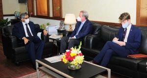 आस्ट्रेलिया के उच्चायुक्त बैरी ओ फैरल ने की मुख्य सचिव से मुलाकात