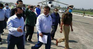 यूपीडा  CEO ने  सुल्तानपुर, आजमगढ़ व गाजीपुर में पूर्वांचल एक्सप्रेसवे का हवाई सर्वेक्षण व स्थलीय निरीक्षण कर निर्देश दिए