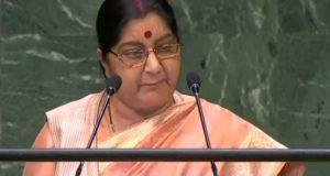 संयुक्त राष्ट्र में बोलीं सुषमा स्वराज- पीएम मोदी ने लिया नए भारत का संकल्प