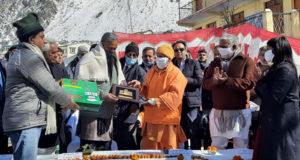 पर्यटक आवास गृह का निर्माण पूर्ण हो जाने पर बद्रीनाथ धाम आने वाले प्रदेश के श्रद्धालुओं को सुविधा होगी—मुख्यमंत्री योगी