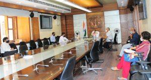 मुख्य सचिव की अध्यक्षता में इनर्जी टास्क फोर्स की बैठक में  422 करोड़ रुपये की परियोजनाएं अनुमोदित