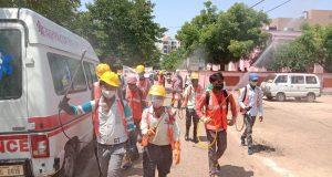 प्रदेश के नगरीय क्षेत्रों में  1215 शासकीय अस्पतालों में चलाया गया सफाई एवं सैनिटाइजेशन अभियान— अपर मुख्य सचिव डॉ. रजनीश दुबे