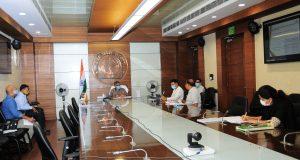नोएडा इंटरनेशनल एयरपोर्ट लिमिटेड की बोर्ड बैठक ,मुख्य सचिव ने कहा, समय से समस्त कार्यवाही पूर्ण की जाए