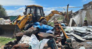 LDA ने ऐशबाग में 100 करोड़ की नजूल की जमीन से अवैध कब्जा हटाया