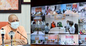 मुख्यमंत्री ने राष्ट्रीय वृद्धावस्था पेंशन योजना के अन्तर्गत  55.77 लाख लाभार्थियों  के खाते में कुल 836.55 करोड़ रु0 की धनराशि ऑनलाइन हस्तान्तरित की