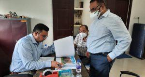 जल्द पूरा करें हुसैनाबाद में निर्माणाधीन म्यूजियम ब्लाक और फूड कोर्ट —LDA ,VC